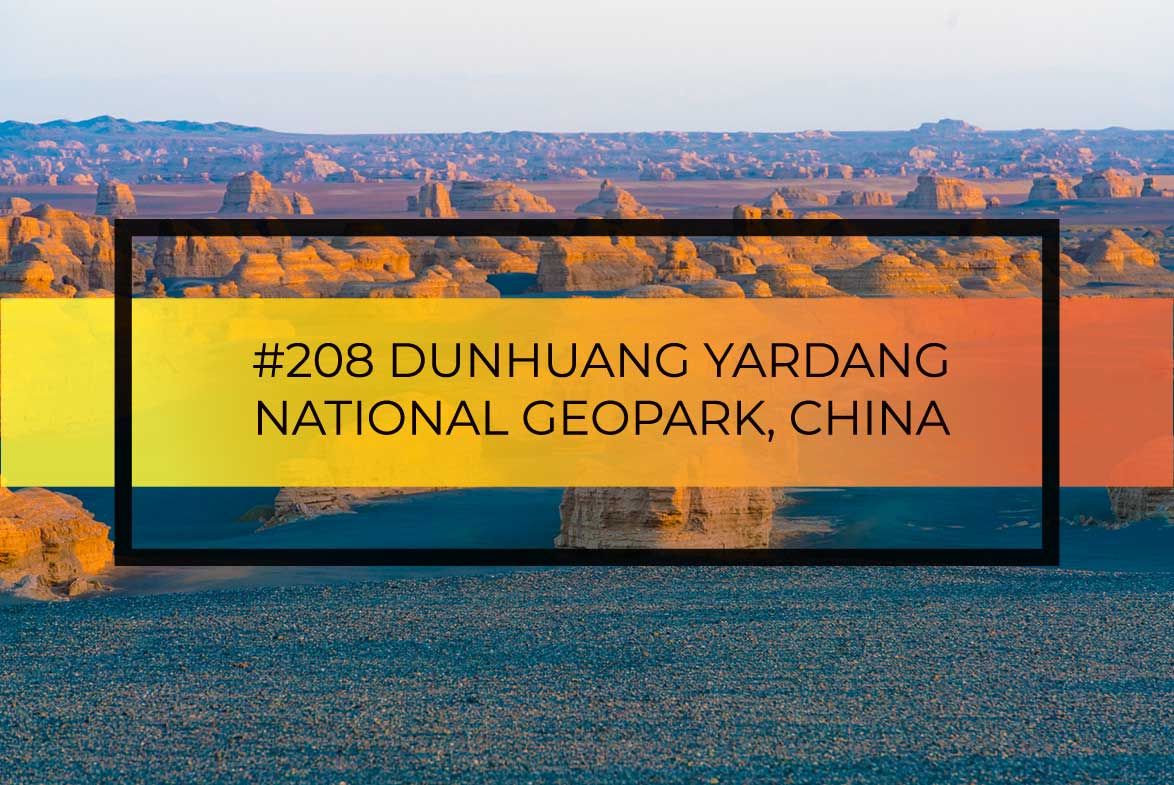 Dunhuang Yardang - Click to read Tom Till's article