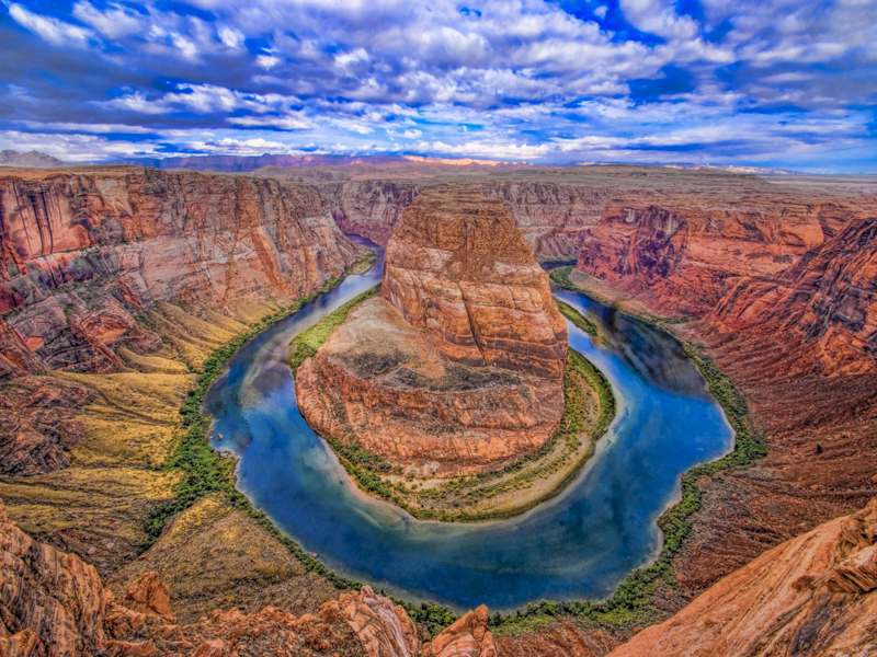 Horseshoe Bend, Page Arizona by Tom Till