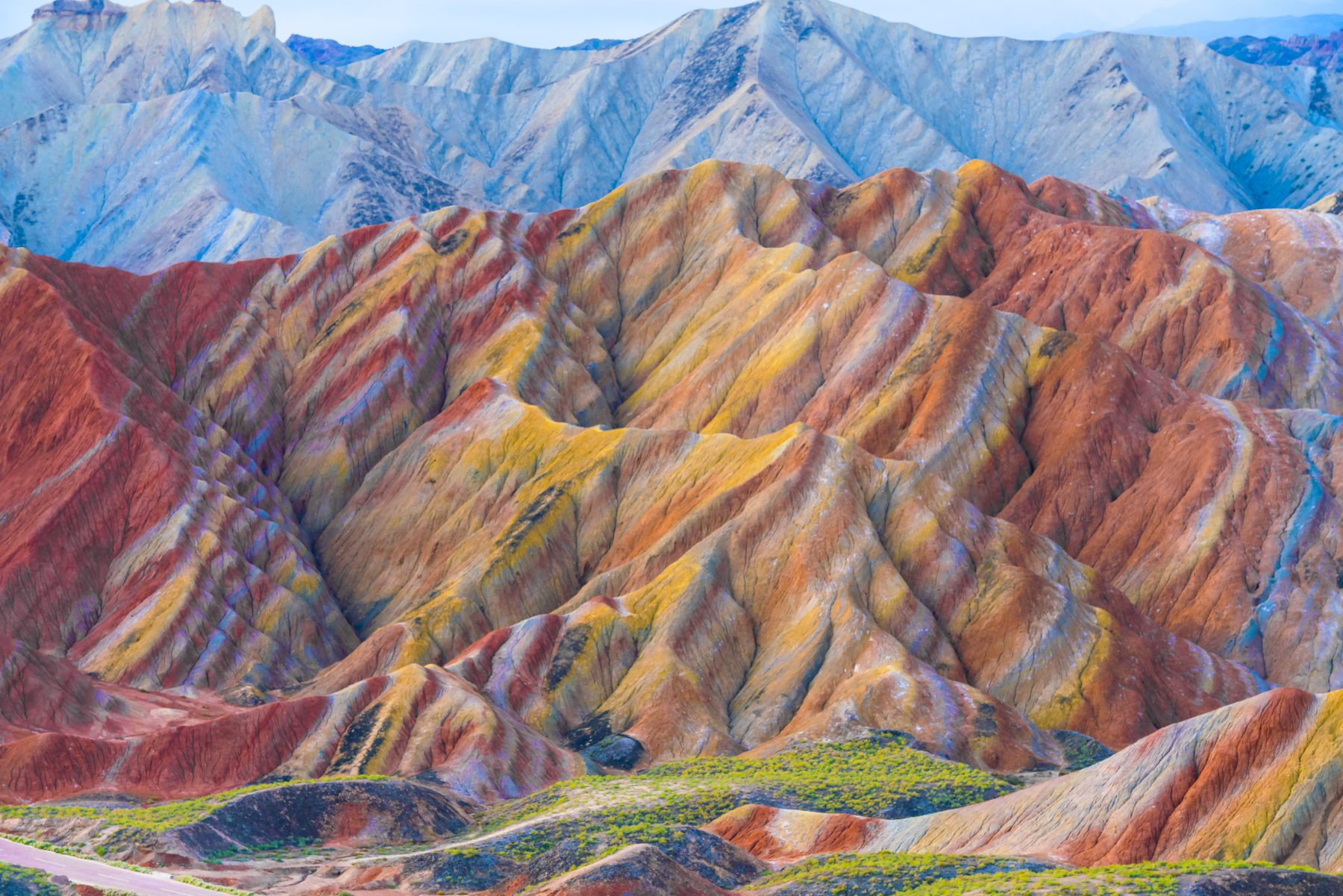 Read about Tom's adventures in Zhangye Danxia, China
