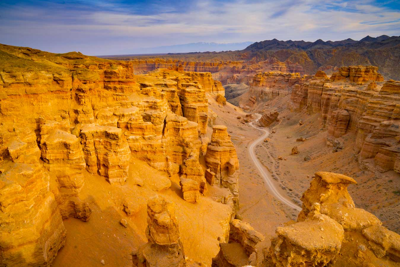 Charyn Canyon, Kazakhstan, Photographed by Tom Till