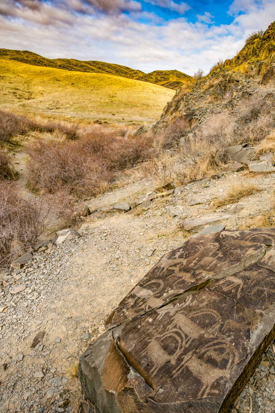 Petroglyphs at Tamgaly Archaeological Landscape, Photographed by Tom Till
