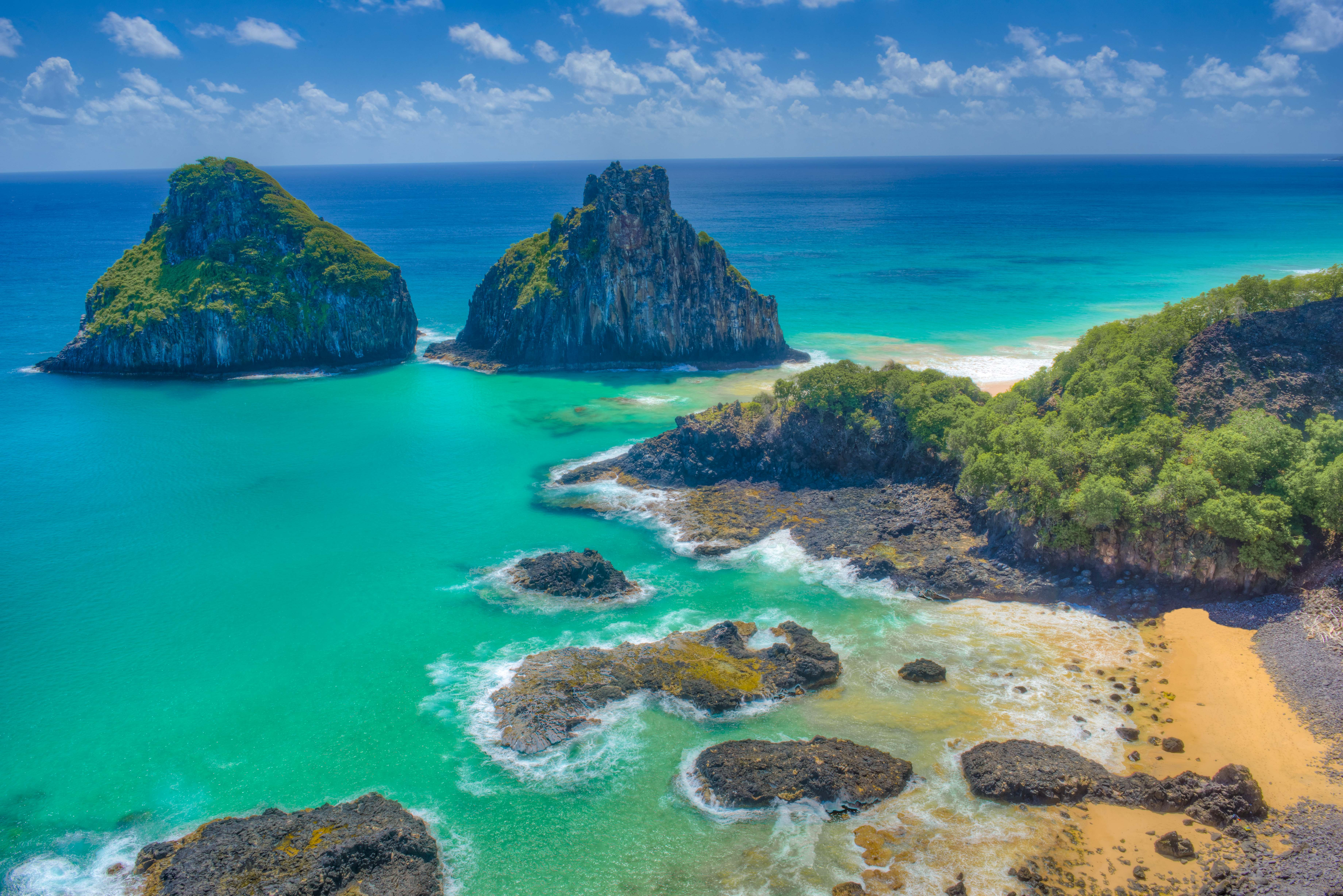 The Two Brothers Beach, Fernando De Noronha National Marine Park, Brazil Photographed by Tom Till