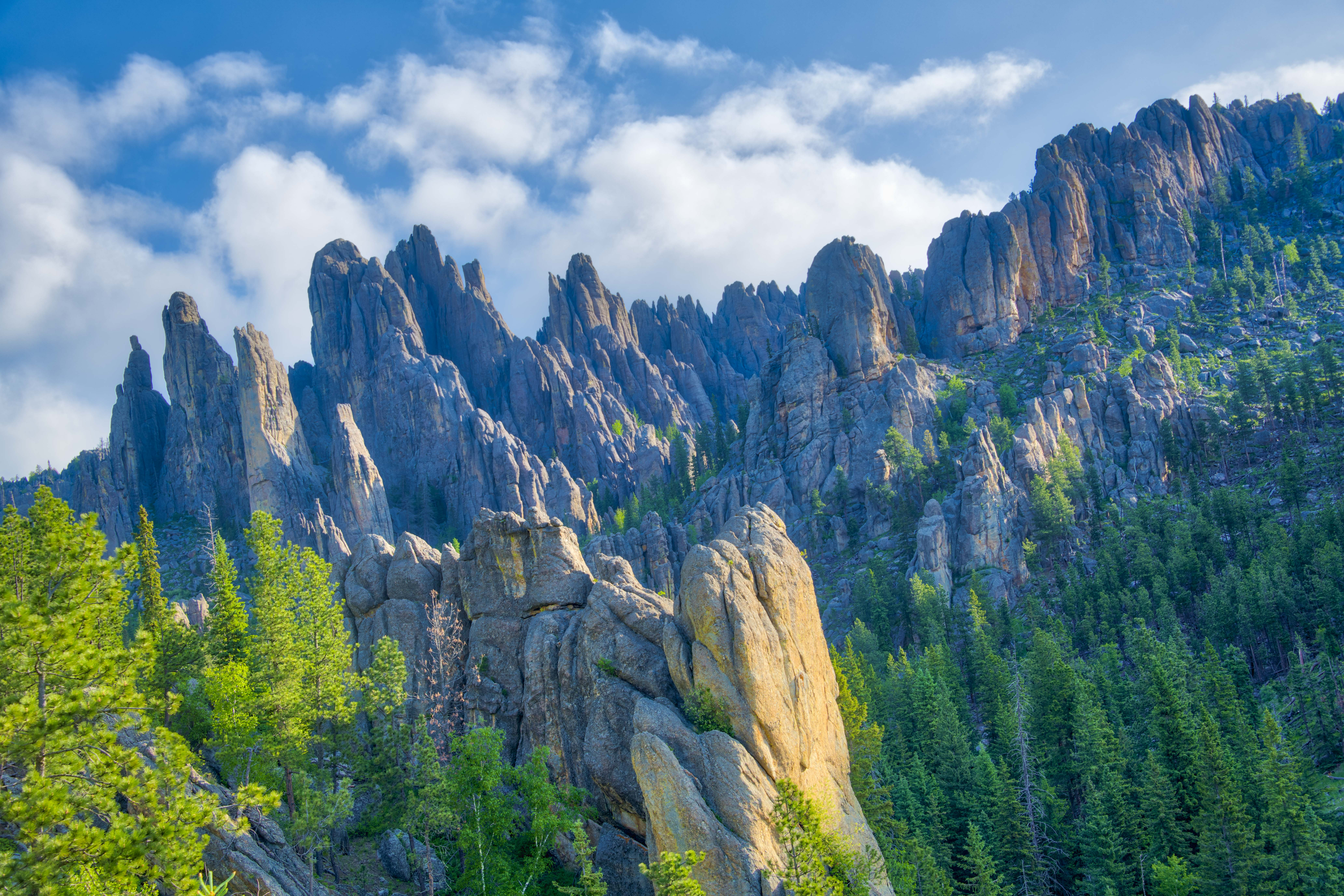 Cathedral Spires and Needles, Custer State Park Photographed by Tom Till