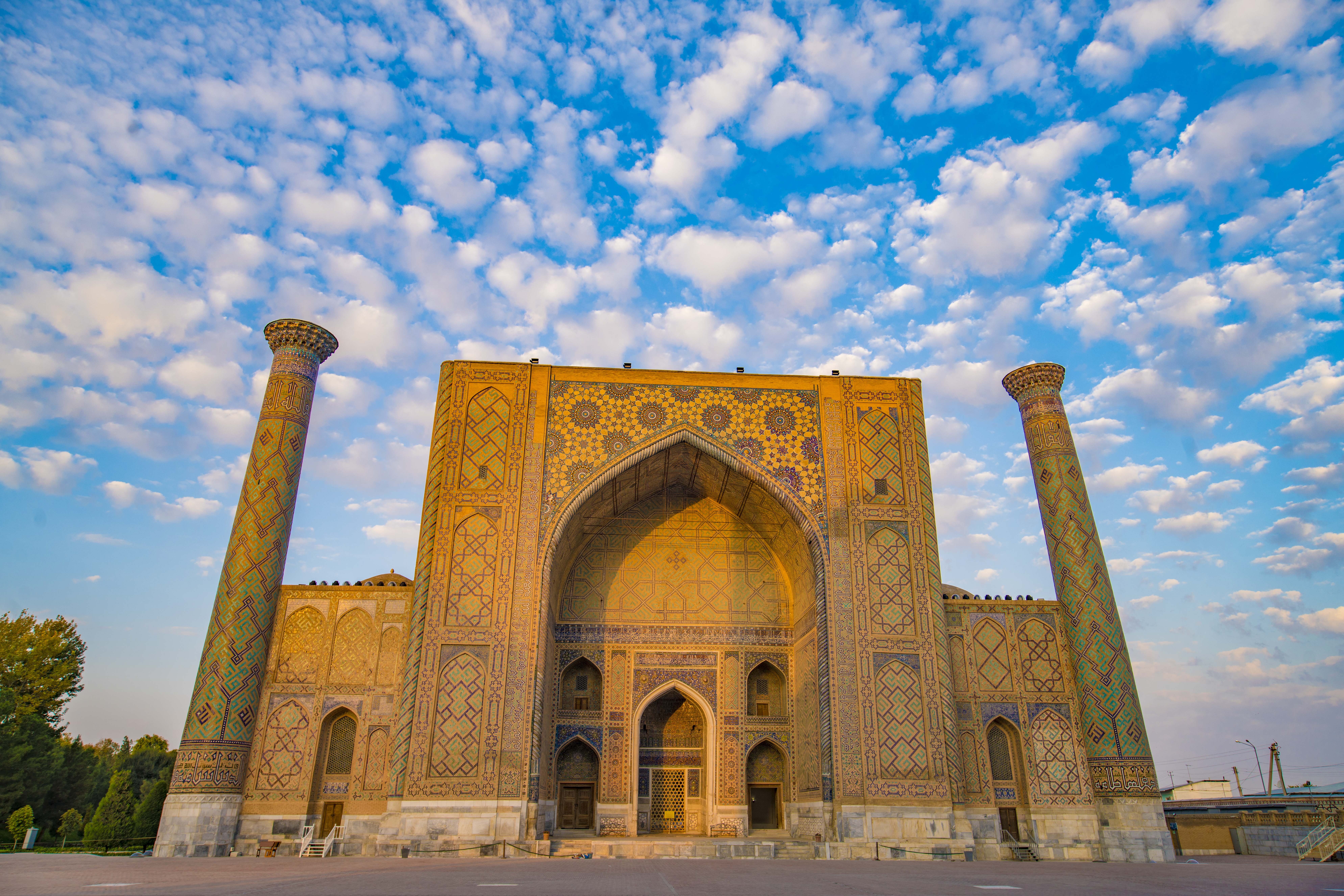 The Registan, Samarkand, Uzbekistan Photographed by Tom Till