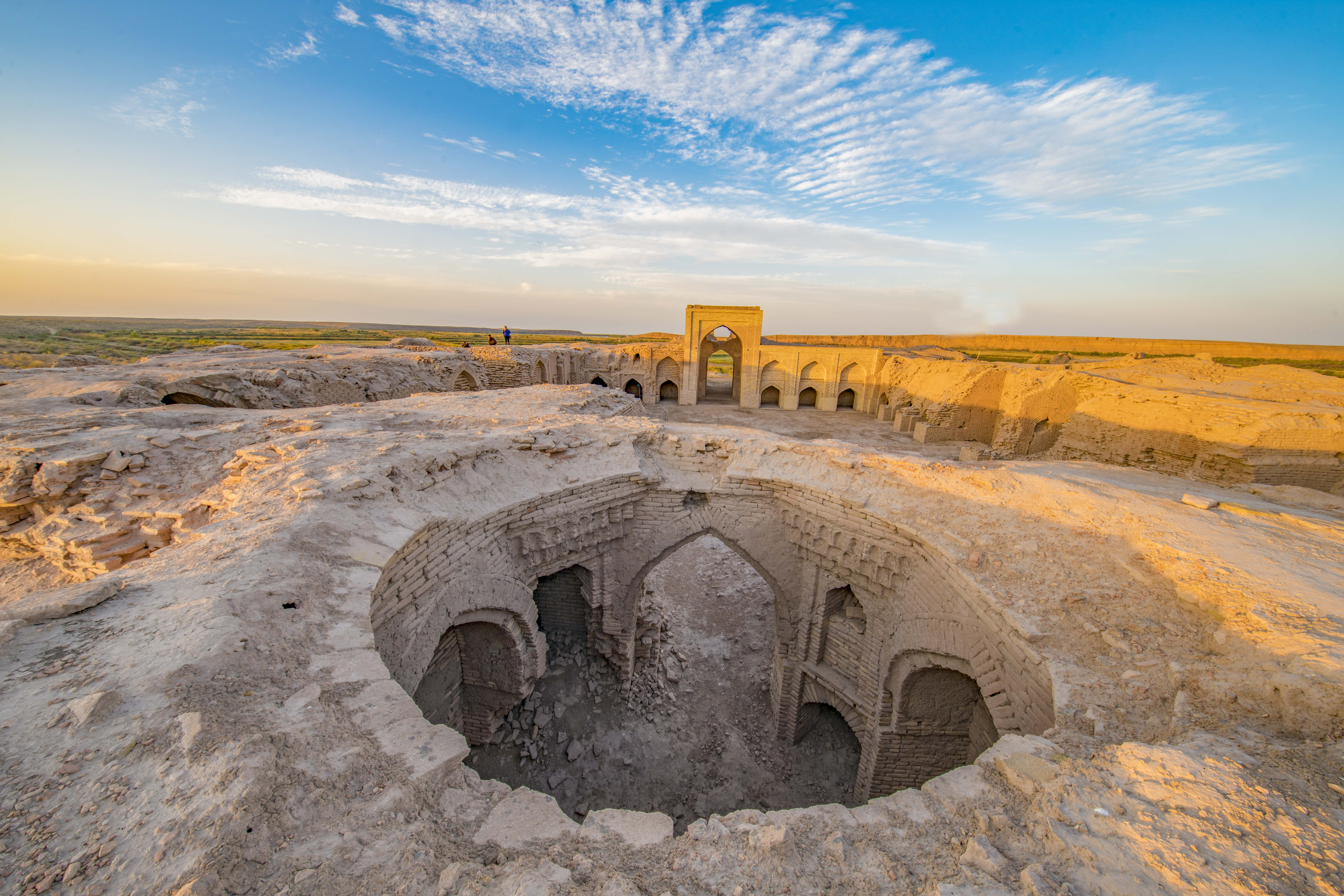 Caravanserai at Dayahatyn, Turkmenistan Photographed by Tom Till