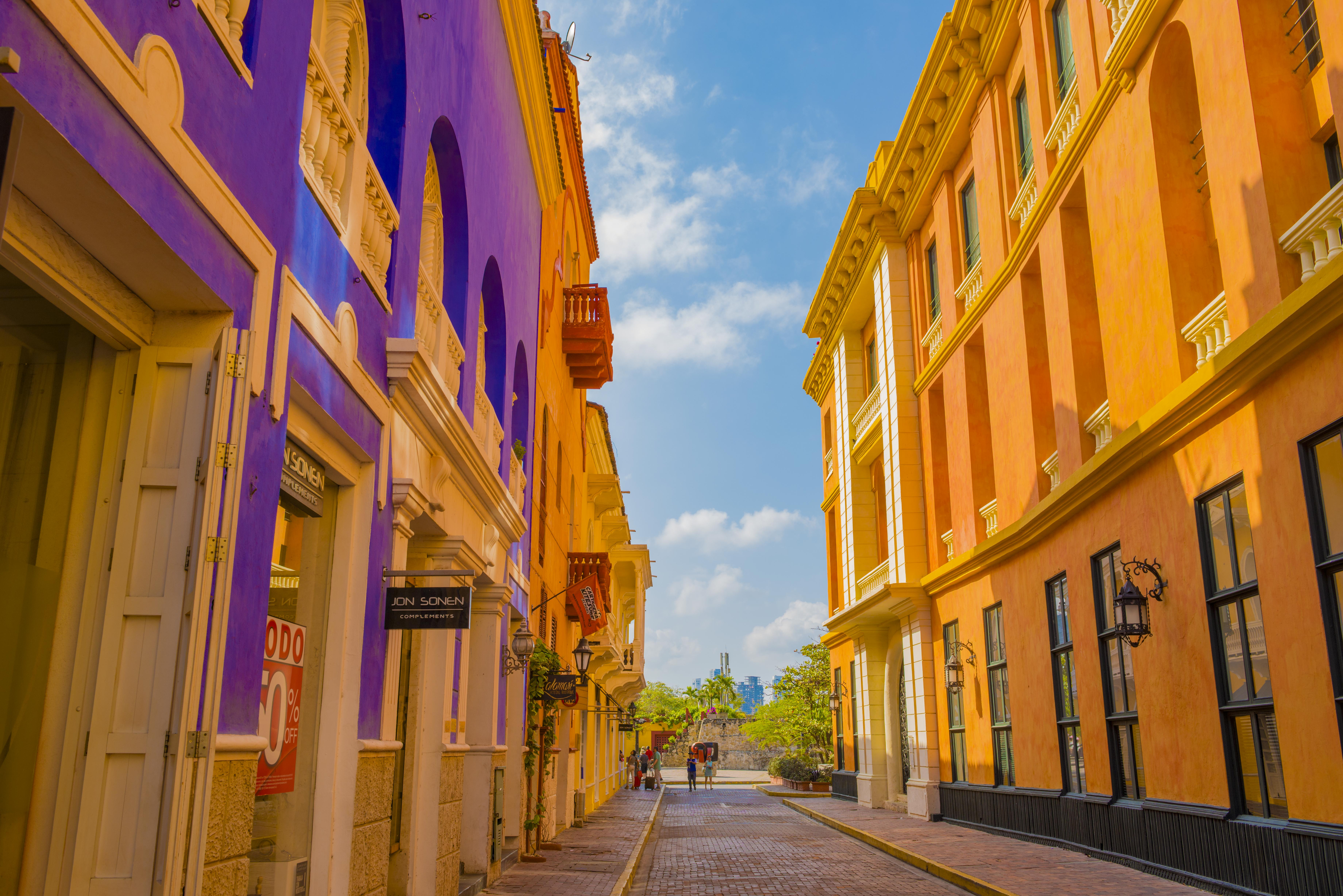 Old town Cartagena, Bolivar, Photographed by Tom Till