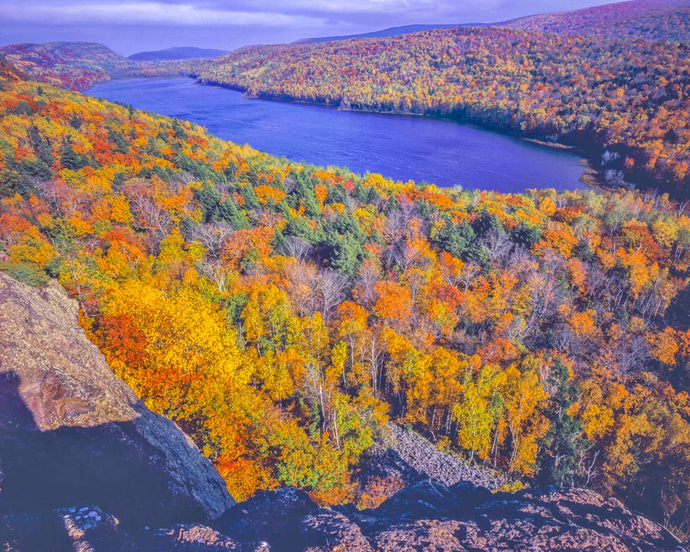 Lake of the Clouds, Porcupine Mountain State Park Photographed by Tom Till