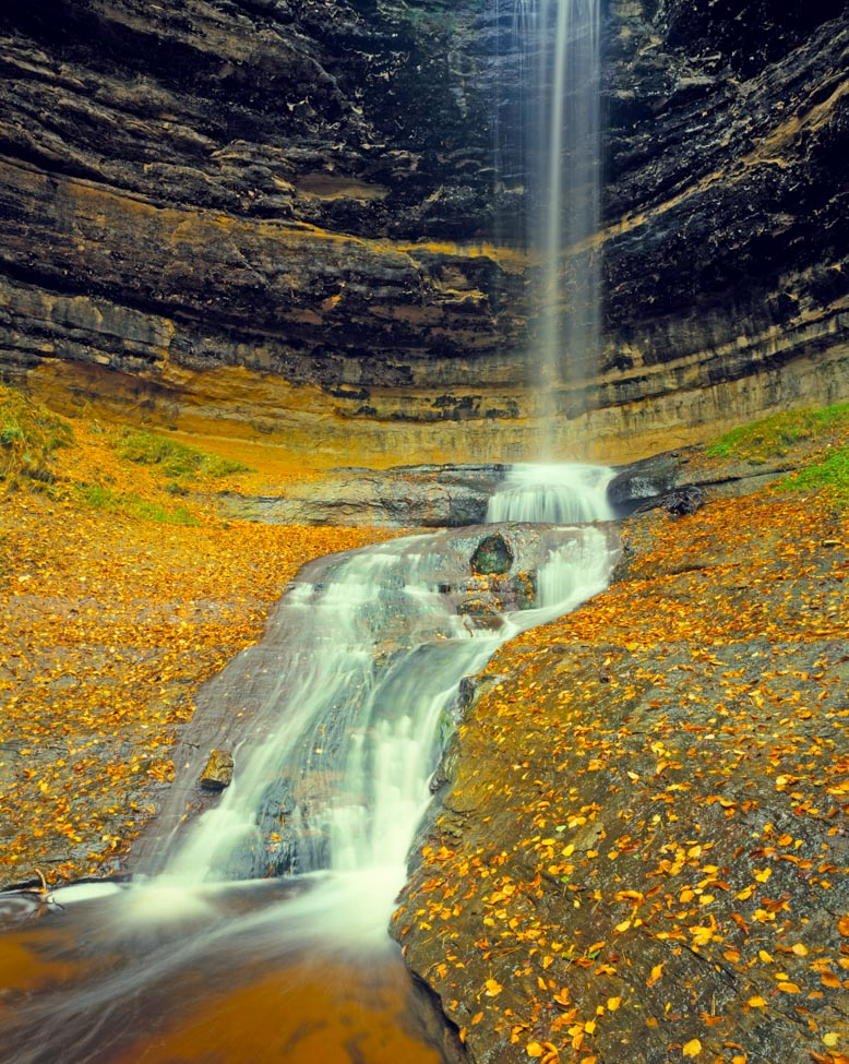 Munising Falls, Pictured Rocks National Lakeshore, Michigan Photographed by Tom Till
