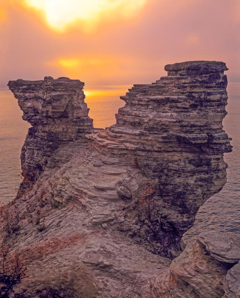 Miners Castle, Pictured Rocks National Lakeshore Photographed by Tom Till
