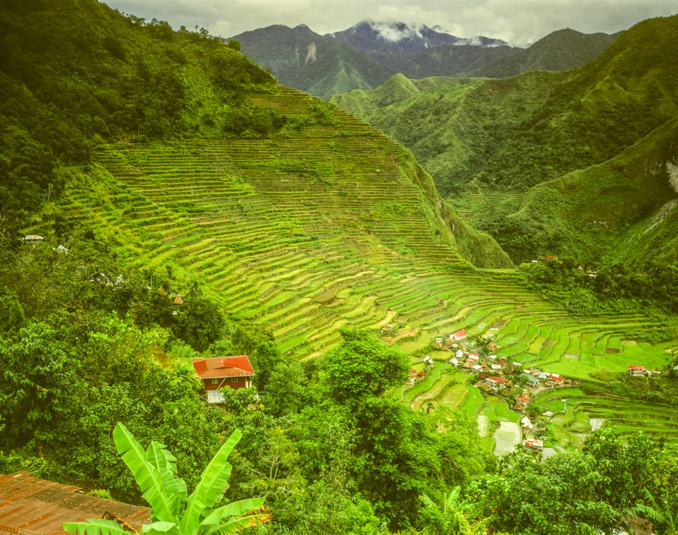 Ancient Rice Terraces at Batad Photographed by Tom Till