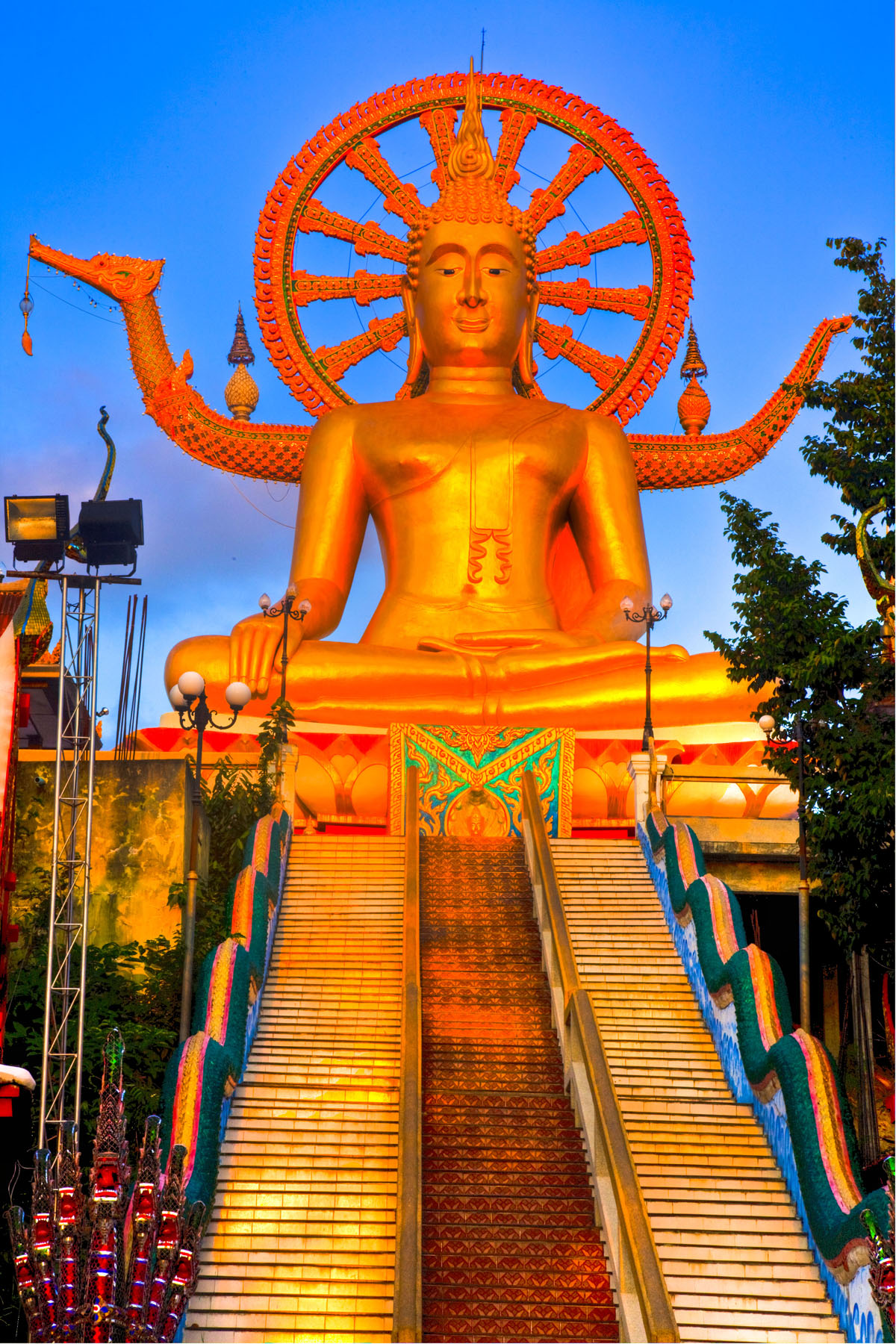 Big Buddha, Ko Samui Island, Thailand photographed by Tom Till