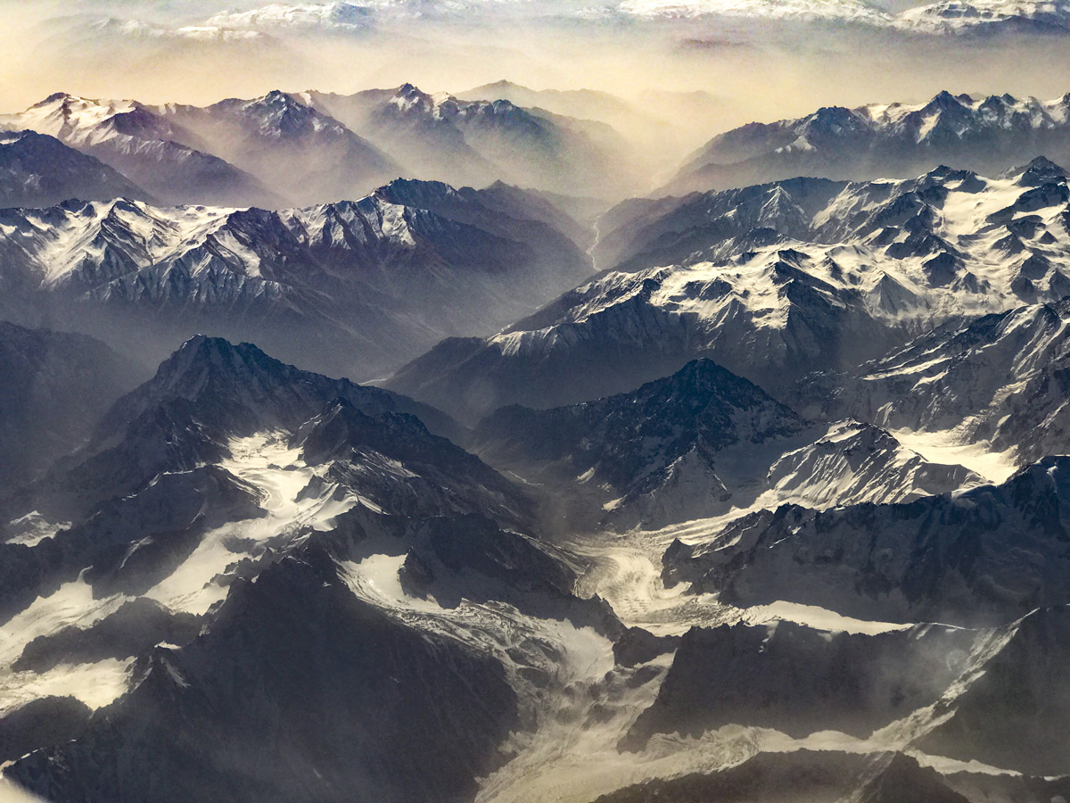 Tien Shan Mountains, Kyrgyzstan photographed by Tom Till