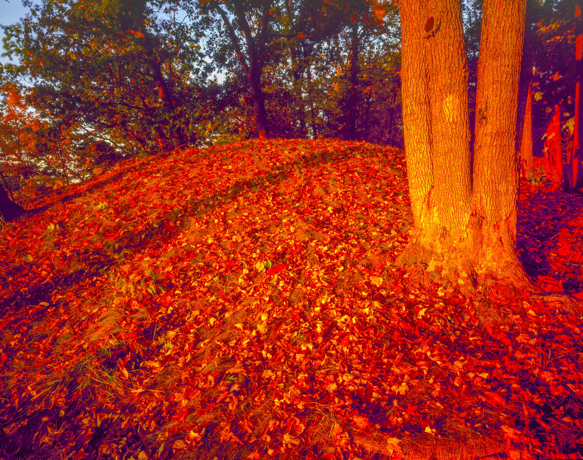 Effigy Mounds National Monument, Iowa, Fire Point photographed by Tom Till